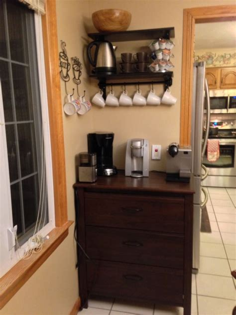 coffee nook ideas coffee nook home sweet home pinterest