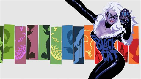 The Black Cat Marvel Comics M008 Iphone 5 5s Se Casing Custom Hardc black cat hd wallpaper and background image 1920x1080 id 475239