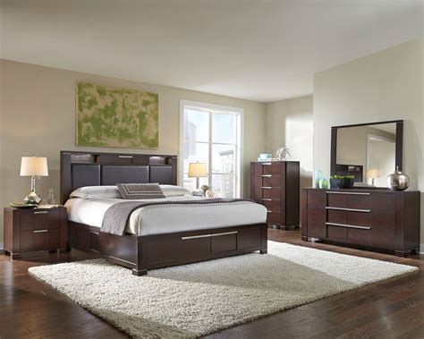 modern bedroom furniture set najarian furniture contemporary bedroom set studio na stbset