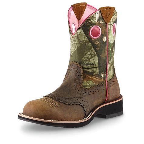 s cowboy boots s ariat 174 8 quot fatbaby cowboy boots 282507