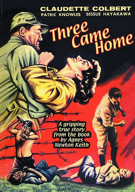 claudette colbert in three came home 1950