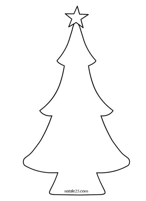 clipart albero di natale cartamodello albero di natale natale 25