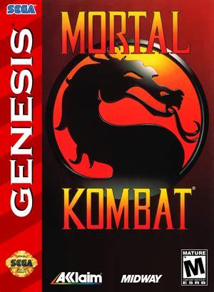 mortal kombat sega genesis characters 989 studios binary messiah reviews for books