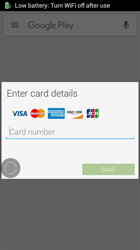 Add Google Play Gift Card To Account - google store change credit card windows xp net version