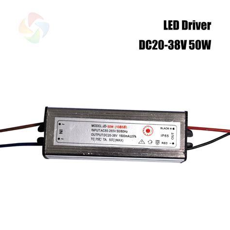 Promo Led Driver 50w 1500 Ma Dc Dc Tanpa Casing High Quality Led Driver Dc20 38v 50w 1500ma Led Power