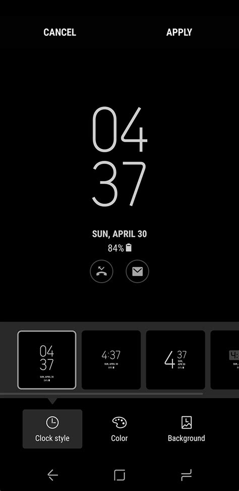 s7 edge always on display themes how to customize the samsung galaxy s8 s always on display