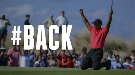 is back tiger woods is back one news page