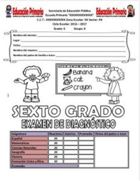 examen diagnostico de ciencias naturales sexto grado examen de diagn 243 stico del sexto grado del ciclo escolar