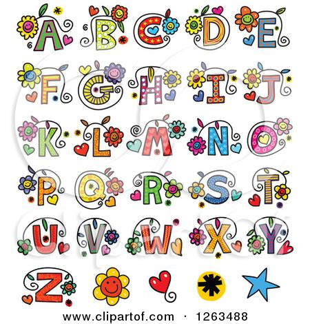 flower letters clipart clipart suggest alphabet letters clipart clipart suggest