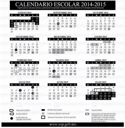 Calendario Escolar Ucol 2014 Publican Calendario Escolar 2014 2015 Colima Noticias