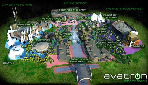Theme Park Emerson Ga | hollywood style avatron theme park is planned for emerson