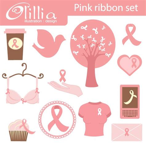 13 Set Ribbon Dotte 13 best think pink images on cancer ribbons pink ribbons and breast cancer awareness