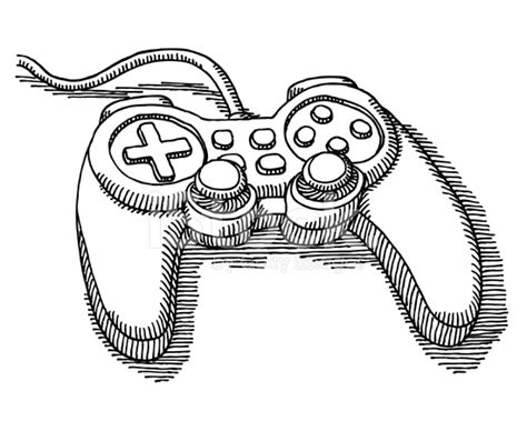 drawing games video game controller drawing stock photos freeimages com