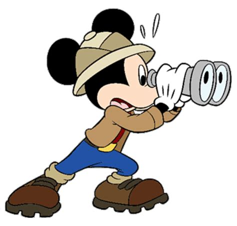 safari binoculars clipart mickey mouse clip 5 disney clip galore