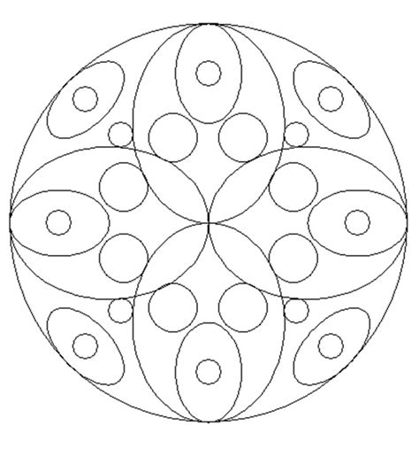 Printable Mandala Coloring Pages For Primary School Ornaments To Color For Primary