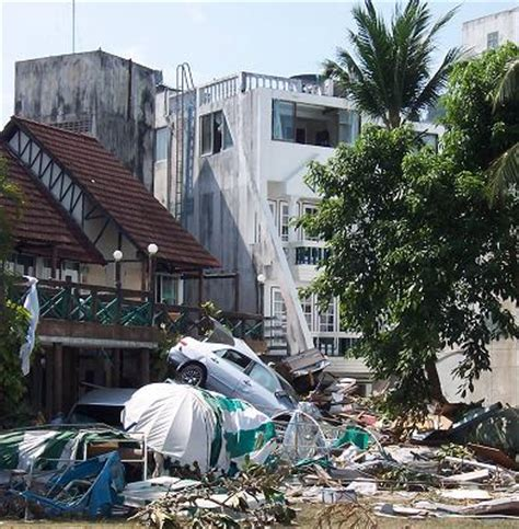 Second Floor Balcony by Tsunami Patong Beach Phuket Thailand Observations By