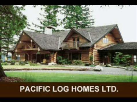 pacific log homes ltd designing your custom log home
