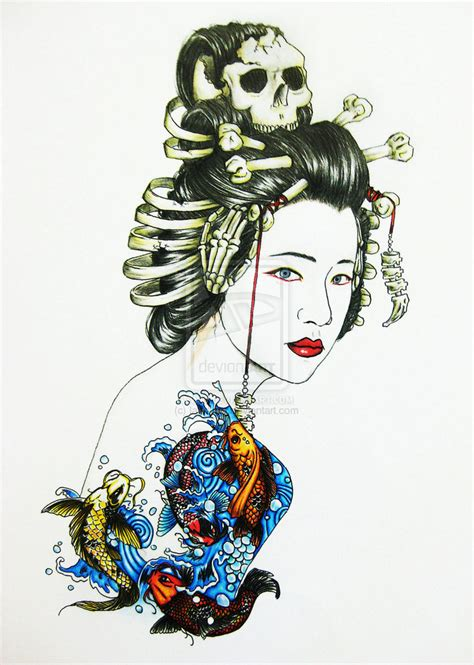 geisha tattoo artists geisha tattoo by iamaryo on deviantart