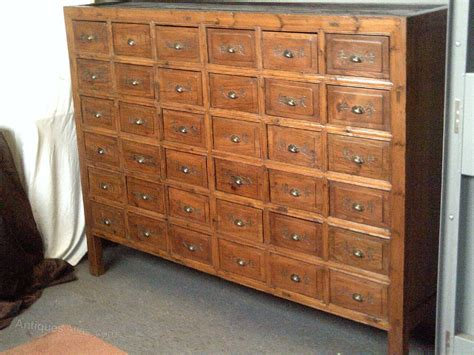 antique apothecary chest of drawers apothecary bank of drawers cabinet antiques atlas