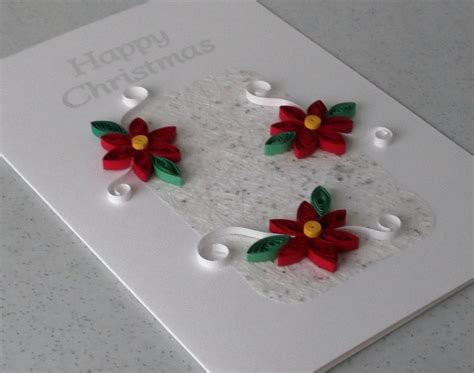 Handmade Paper Card - quilled card handmade paper quilling by