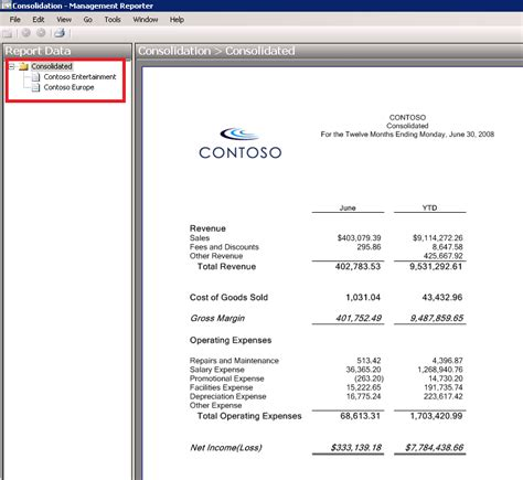consolidated financial statement template 100 consolidated financial statement template
