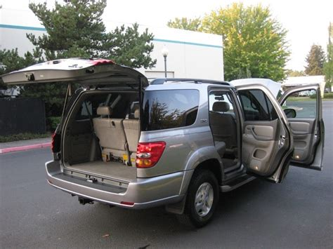 How Many Seats Does A Toyota Sequoia 2003 Toyota Sequoia Sr5 3rd Seat Leather Moonroof