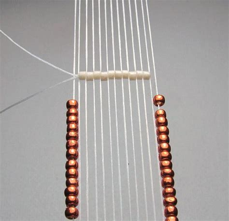 how to use a seed bead loom trice looming mirrix tapestry bead looms