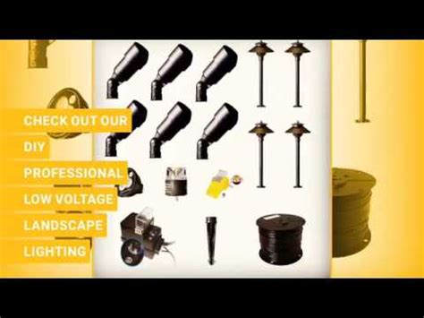 do it yourself low voltage landscape lighting kits how