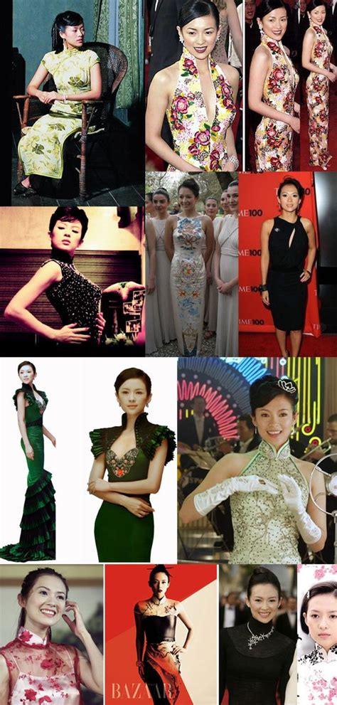 zhang ziyi cheongsam ziyi zhang qipao qipao pinterest チャイナ ドレス いい