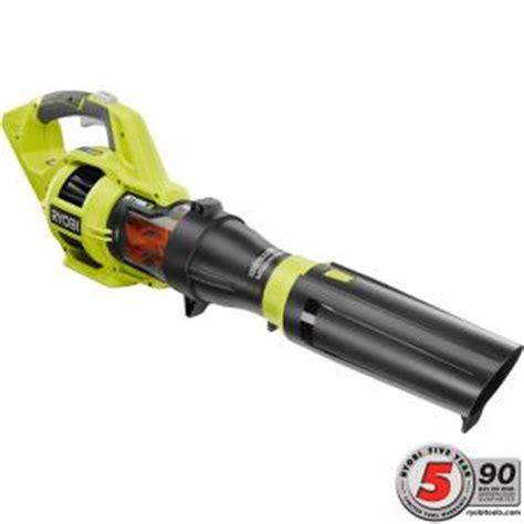 ryobi fan and battery ryobi 110 mph 480 cfm variable speed turbo 40 volt lithium
