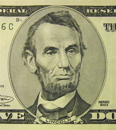 abraham lincoln on the five dollar bill file lincoln on 5 usd bill jpg