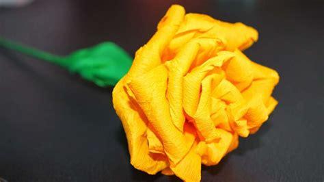 come creare fiori di carta crespa primavera 2017 come realizzare fiori carta crespa