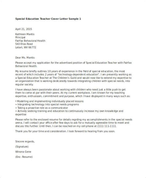 Special Education Cover Letter by 15 Best Education Resume Templates Pdf Doc Free Premium Templates