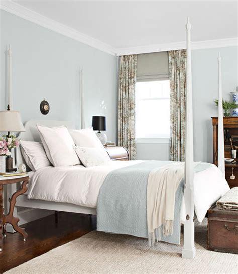 Paint color portfolio pale blue bedrooms apartment therapy