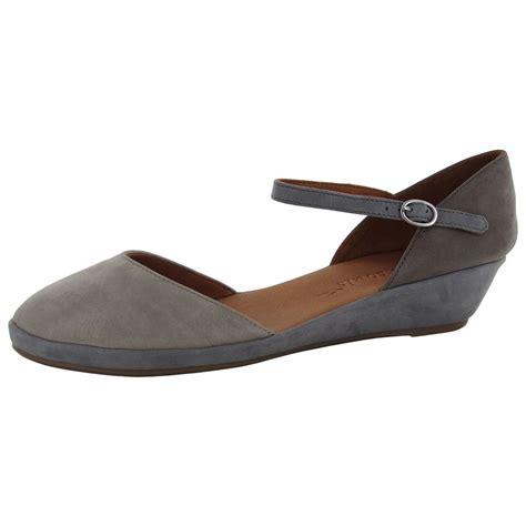 gentle souls shoes gentle souls womens noa nubuck demi wedge shoes ebay