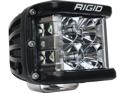 rigid industries led lighting rigid industries d ss black finish single led light