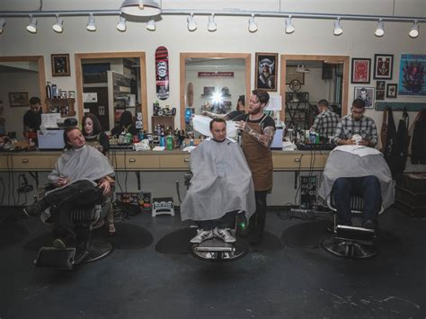 Shed Barbershop by Slideshow Chefs And Bartenders Get Royal Treatment