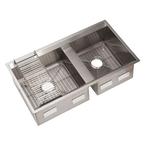 Kitchen Sink Kit Kohler 8 Degree Undermount Stainless Steel 33 In Basin Kitchen Sink Kit Stainless