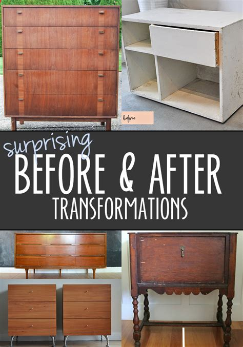 fantastic before and after furniture transformations
