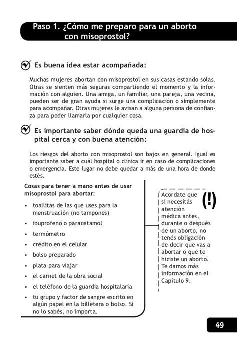 quiero saber cuantas cotizaciones tengo en el ivss manual aborto con pastillas argentina