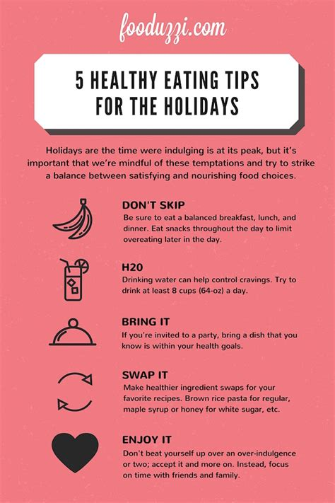 5 Nutritious Tips For Healthy Skin by 5 Healthy Tips For The Holidays Fooduzzi