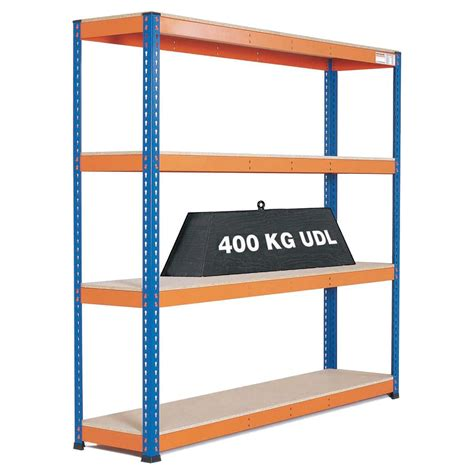 Warehouse Shelf by Heavy Duty Warehouse Shelving 4 Level Bay Gt Warehouse