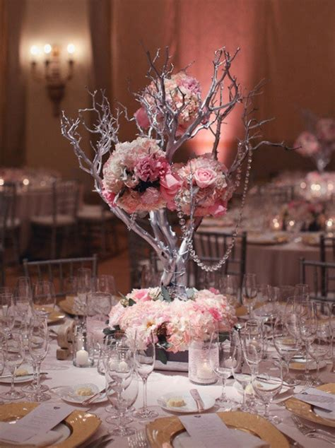 tree branch centerpieces for weddings unique wedding reception centerpieces archives weddings