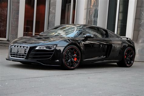 Audi R8 Schwarz by Carbon Audi R8 Hyper Black Edition By