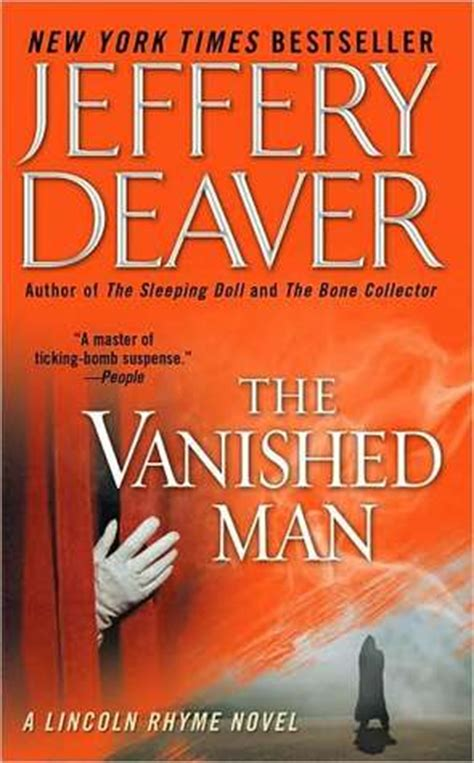 vanished a novel books the vanished lincoln rhyme 5 by jeffery deaver