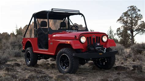 mahindra jeep india model mahindra introduces the roxor road vehicle to the u s
