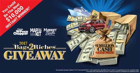 Fantasy Riches Sweepstakes - bags2riches com price chopper bags2riches giveaway winzily