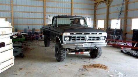 ford cummins 1977 ford cummins cold start