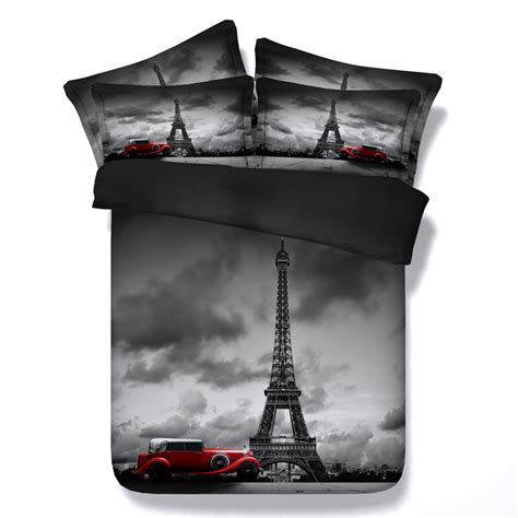 eiffel tower bed set popular eiffel tower comforter set buy cheap eiffel tower comforter set lots from