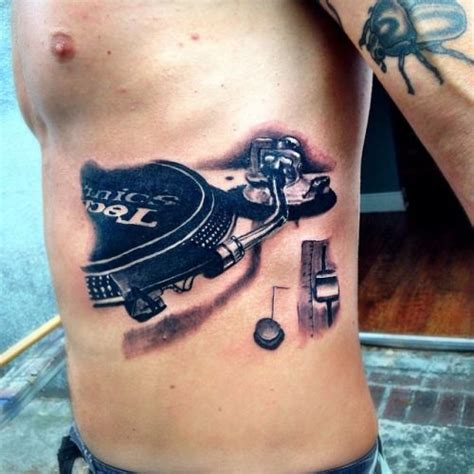 turntable tattoo dj tattoos search ink dj